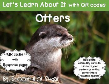 Let's Learn About It with QR Codes!  Otters