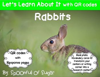 Let's Learn About It with QR Codes!  Rabbits