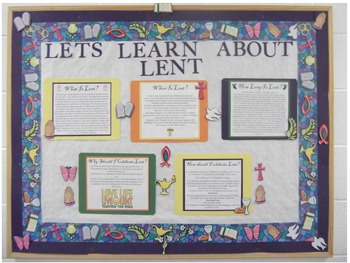 Let's Learn About  Lent!