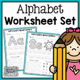 Alphabet Worksheets - No Prep