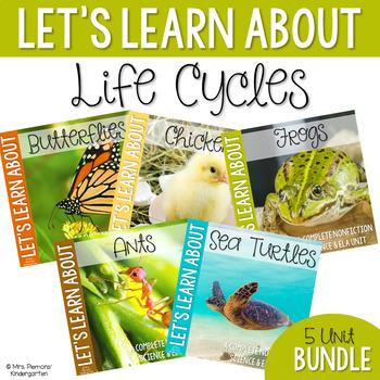Life Cycle Nonfiction Science & ELA Unit {Bundle}