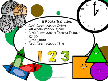 Let's Learn About Math: Adapted Book Bundle