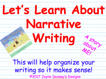 Let's Learn About Narrative Writing