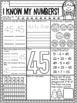 Number Sense 0-50 NO PREP Math Printables