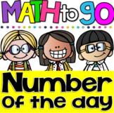 A Number A Day 0-50! Number Sense Printables for Kindergarten & First Grade