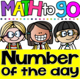 A Number A Day 0-50! Number Sense Printables for Kindergarten & First Grade
