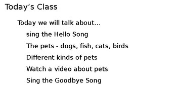 Let's Learn About Pets