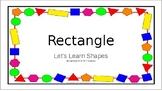 Let's Learn About Rectangles (Sample)