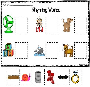 Let's Learn About...Rhyming Words