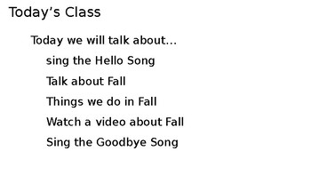 Let's Learn About Seasons - Fall