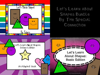 Let's Learn About Shapes Bundle