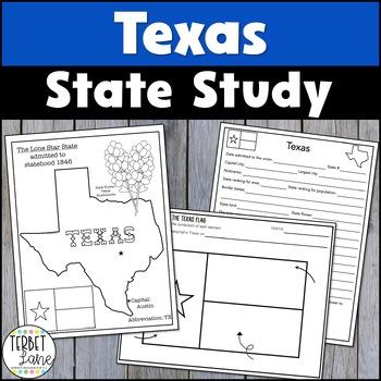 Texas History, Geography, Symbols and Culture Mini Unit Study