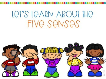 Let's Learn About the Five Senses