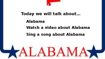 Let's Learn About the U.S. - L1- Alabama