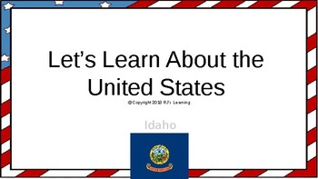 Let's Learn About the U.S. - L12 - Idaho