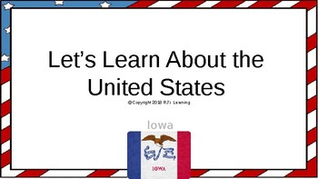 Let's Learn About the U.S. - L15 - Iowa