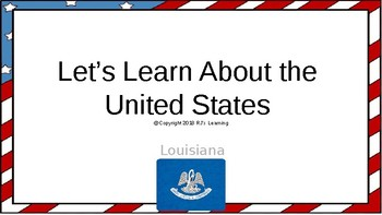 Let's Learn About the U.S. - L18 - Louisiana