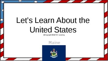 Let's Learn About the U.S. - L19 - Maine