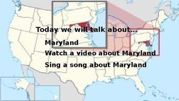 Let's Learn About the U.S. - L20 - Maryland