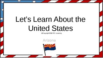 Let's Learn About the U.S. - L3- Arizona