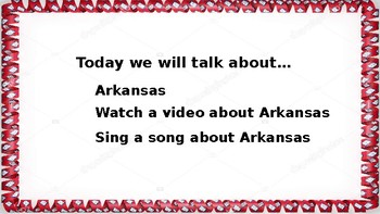 Let's Learn About the U.S. - L4- Arkansas