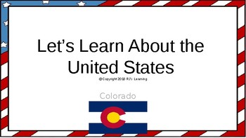 Let's Learn About the U.S. - L6- Colorado