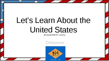 Let's Learn About the U.S. - L8 - Delaware