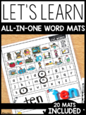 Let's Learn! All-in-One Word Mats