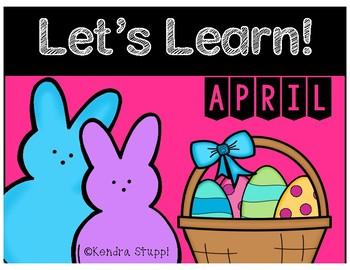 Let's Learn April! {Kindergarten}