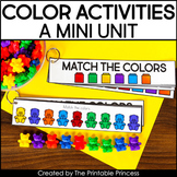 Let's Learn Colors | A Colors Activities Mini Unit