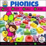 Phonics: Diphthongs: Oi, Oy, Au, Aw