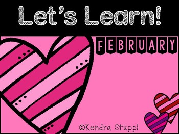 Let's Learn February {Kindergarten}