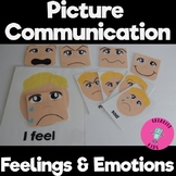 Let's Learn Feelings Bundle with Interchangeable Faces Gre