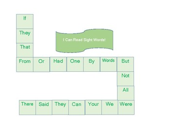 Let's Learn How to Read Sight Words Game A