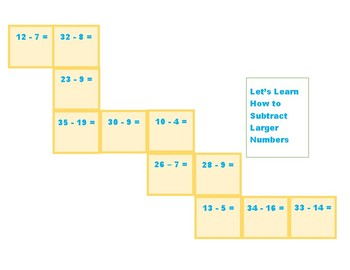 Let's Learn How to Subtract Larger Numbers with Regrouping