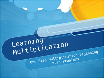 Let's Learn Multiplication!
