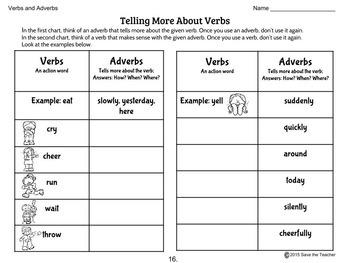 Grammar: Nouns, Verbs, Adjectives and Adverbs