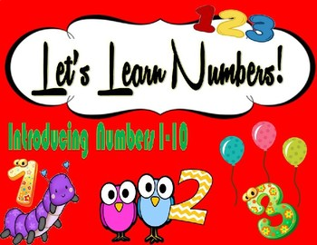 Let's Learn Numbers!