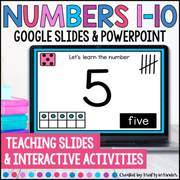 Let's Learn Numbers 1-10 PowerPoint