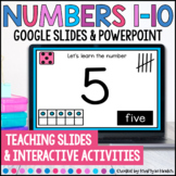 Numbers 1-10 PowerPoint and Google Slides
