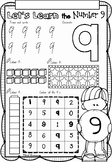 Let's Learn Numbers 1 to 10 worksheets in NSW Foundation F