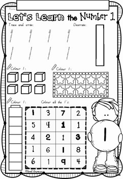 Kindergarten Maths Worksheets Australia