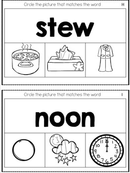 Let's Learn Oo & Ew (a phonics unit)