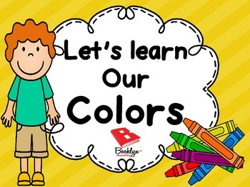 Let's Learn Our Colors!!