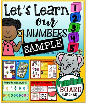 Let's Learn Our Numbers 1-10 {Promethean Board Flip Chart} SAMPLE