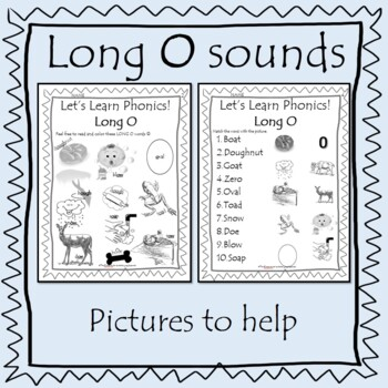 Let's Learn Phonics - LONG O Sound