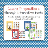 Prepositions to Learn through Interactive Books