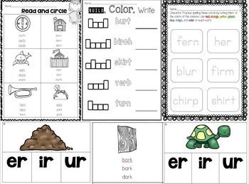 Let's Learn R-Controlled Vowels (a bundled unit)