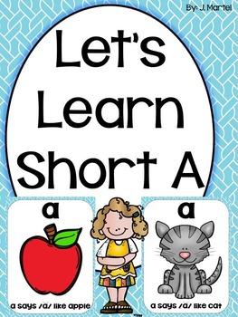 Let's Learn Short A (a phonics unit)