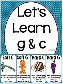 Let's Learn Soft C & G ( a phonics unit)